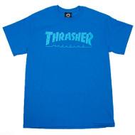Thrasher - Skate Mag T-Shirt - Saphire