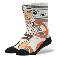 Stance Socks X Star Wars - Rey and BB-8