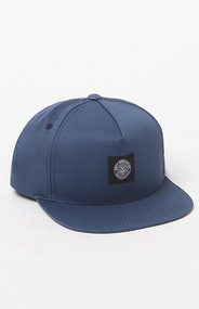 Obey - Worldwide Seal Snapback Hat - Navy
