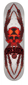 Santa Cruz Pro Deck - Dressen Widow Skull - 8.6""