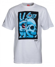 Santa Cruz - Fish Hand T-Shirt - White