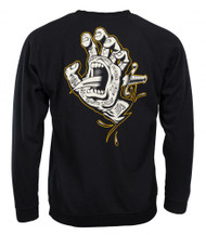 Santa Cruz Flash Hand - Crew Sweatshirt