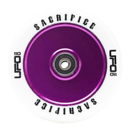 Sacrifice UFO Scooter Wheel - White / Purple