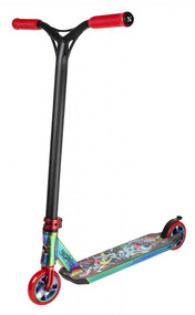 Sacrifice Complete Scooter - Flyte 115 - Neo Chrome / Graffiti