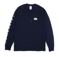RIPNDIP - Lord Nermal Long Sleeve Tee - Navy