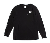 RIPNDIP - Lord Nermal Long Sleeve Tee - Black