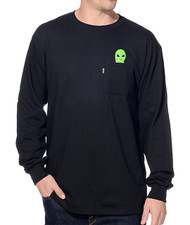 RIPNDIP - Lord Alien Long Sleeve Tee - Black