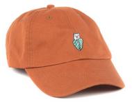 RIPNDIP - Nermal Leaf Curved Brim Dad Hat - Texas Orange