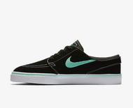 Nike SB - Stefan Janoski Shoes - Black/Anthracite/White/Green Glow