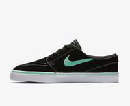 Nike SB - Stefan Janoski Shoes - Black/Anthracite/White/Green Glow
