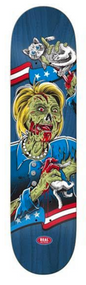 Real Deck - Hillary Clinton Zombie - 8.06""