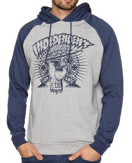 Independent Ripped Hoodie - Blue