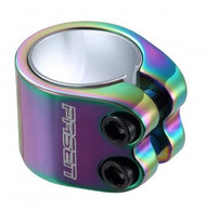 Fasen 2 bolt collar clamp - Neo Chrome