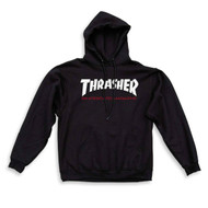 Thrasher Two Tone Skate Mag  Hoodie - Black