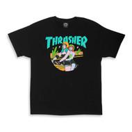 Thrasher Babes Womens Tee - Black