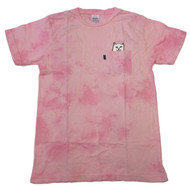 RIPNDIP - Lord Nermal Pocket Tee - Pink Mineral Wash