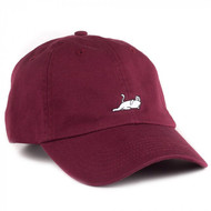 RIPNDIP - Castanza Six Panel Cap - Burgundy
