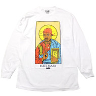 DGK Tupac - Hail Mary L/S Tee- White