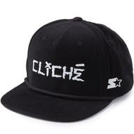 Cliche Corduroy Snapback Hat