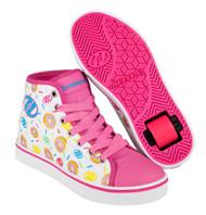 Heelys - Veloz - White/Pink/Donuts