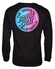 Santa Cruz Cali Fade Long Sleeve Tee - Black