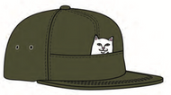 RIPNDIP Lord Nermal Pocket 6 Panel Hat - Jalapeno