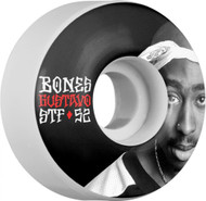 Bones Wheels - STF Gustavo OG V1 - Tupac - White - 52  MM