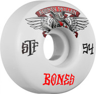 Bones Wheels - STF Mullen Winged Mutt V1 - White - 54  MM