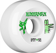 Bones Wheels - STF Bingaman Burney V5 - White - 53  MM