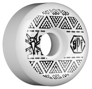Bones Wheels SPF V5 Series Side Cut - White - 54  MM