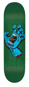 Santa Cruz Pro Deck - Minimal Screaming Hand Deck - 8.5""