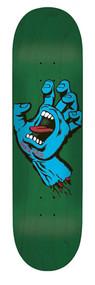 "Santa Cruz Pro Deck - Minimal Screaming Hand Deck - 8.5"""