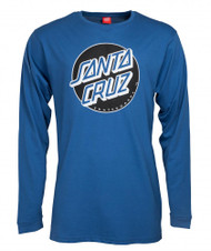 Santa Cruz Classic Dot Long Sleeve - Blue