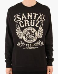 Santa Cruz Burn Out Crew Sweatshirt