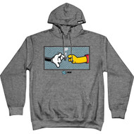 DGK X Green Door - Pass it On Hoodie - Grey