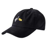 DGK X Green Door - Strapback Dad Hat - Black