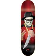 "DGK G Killers Skateboard Deck Quise 8.1"""