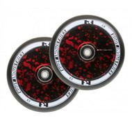 Root Industries 110mm Air Wheels - Pair - Red Splatter