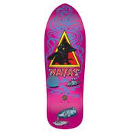 Santa Cruz / SMA Natas Kitten Pink Skateboard Deck