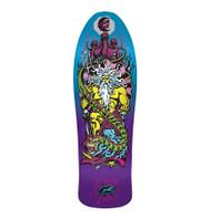 Santa Cruz Reissue Jesse Neptune Purple  Fade Skateboard Deck