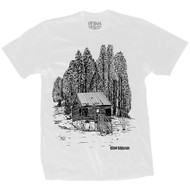 Heroin Skateboards Cabin Tee - White