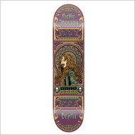 "Death Skateboard Deck - Jackson Art Nouveau 8.25"""