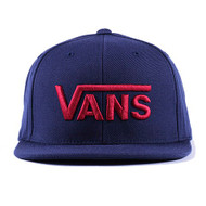 Vans Drop V Snapback Hat - Dress Blue