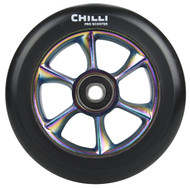 Chilli Turbo Scooter Wheel 110mm Black/Neochrome