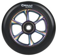 Chilli Turbo Scooter Wheel 110mm Black/Neochrome