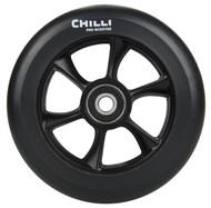 Chilli Turbo Scooter Wheel 110mm Black/Black