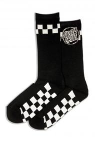 Santa Cruz Socks Fast Times - Black