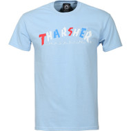 Thrasher Magazine - Knock Off Tee - Light Blue