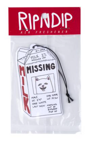 RIPNDIP  Milk Cartoon Air Freshner