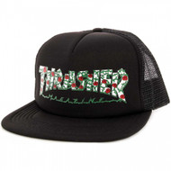 Thrasher Roses Mesh Hat - Black